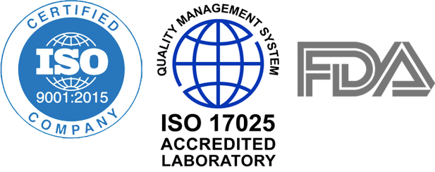 ISO - ISO 1025 Accredited Laboratory - FDA
